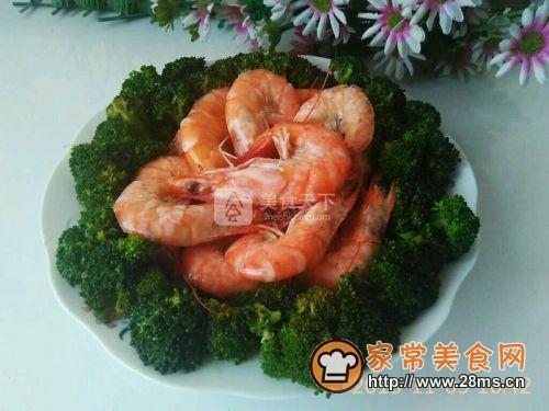 兰花大虾的做法