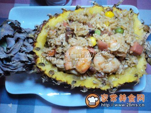 中式菠萝炒饭的做法