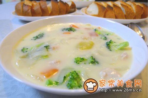 法国菜汤的做法