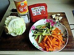 爽口开胃韩式拌白菜的做法步骤:1