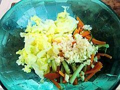 爽口开胃韩式拌白菜的做法步骤:4