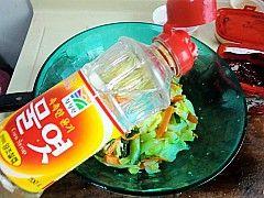 爽口开胃韩式拌白菜的做法步骤:6
