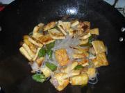 杂炒豆腐的做法图解7