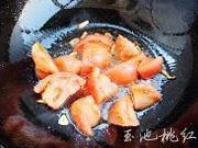 番茄炒豆腐的做法图解5