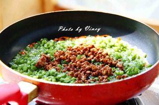 干煸四季豆的做法步骤:7