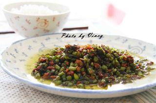 干煸四季豆的做法步骤:9