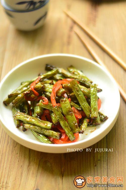 干煸四季豆的做法