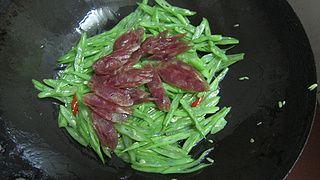 四季豆的做法步骤:12