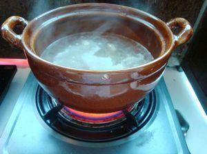 火腿砂锅杂菜的做法步骤:5
