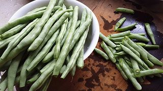 简易版干煸四季豆的做法步骤:1