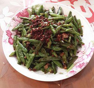 简易版干煸四季豆的做法步骤:8