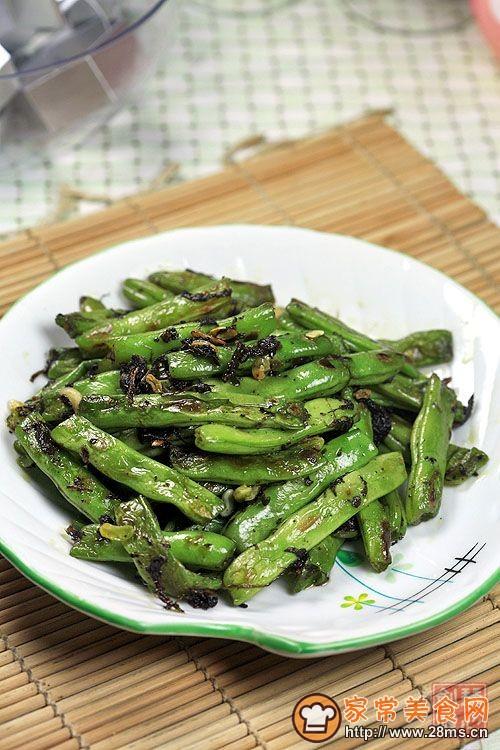 橄榄菜炒四季豆的做法