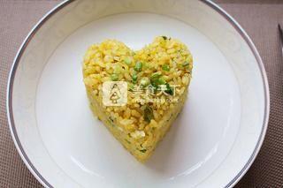 葱香黄金蛋炒饭的做法步骤:7