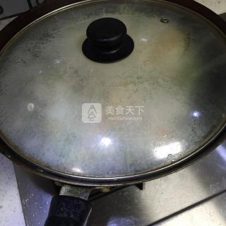 西芹蛋炒饭的做法步骤:6