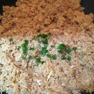 葱油蛋炒饭的做法步骤:7