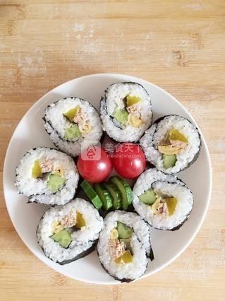 金枪鱼寿司的做法步骤:21