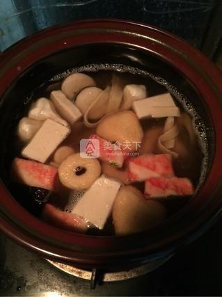 砂锅米线的做法