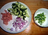 家常蛋炒饭的做法步骤:4