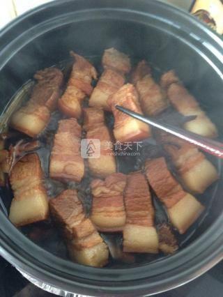 东坡肉的做法步骤:11