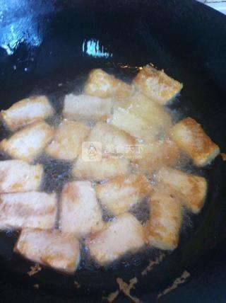 肉酱老豆腐的做法