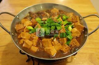 这道干锅千叶豆腐