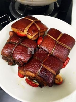 秘制东坡肉的做法步骤:14