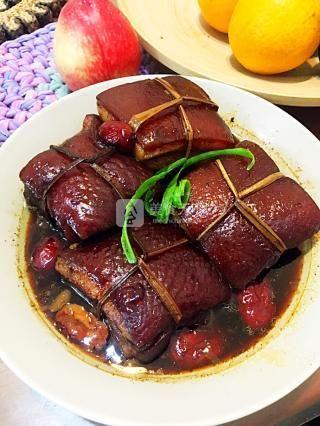 秘制东坡肉的做法步骤:17