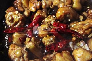 新疆大盘鸡的做法步骤:8