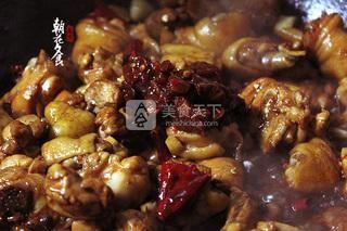 新疆大盘鸡的做法步骤:9