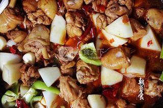 新疆大盘鸡的做法步骤:11