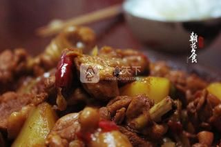 新疆大盘鸡的做法步骤:12