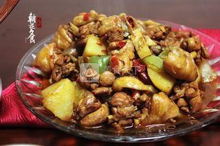 新疆大盘鸡的做法步骤:14