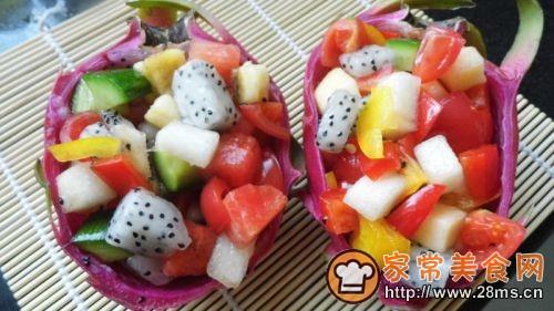 什锦蔬菜水果沙拉的做法