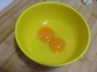 五彩紫米蛋炒饭的做法步骤:4