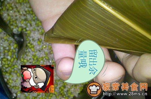叉烧蛋黄粽的做法步骤:3