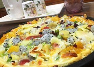 水果披萨的做法步骤:8