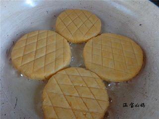 香酥奶香玉米饼的做法步骤:14