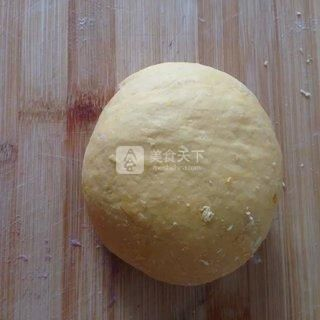 南瓜紫薯发糕的做法步骤:4