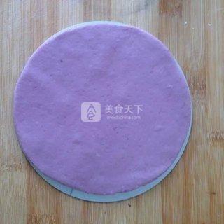 南瓜紫薯发糕的做法步骤:6