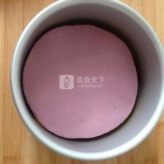 南瓜紫薯发糕的做法步骤:8