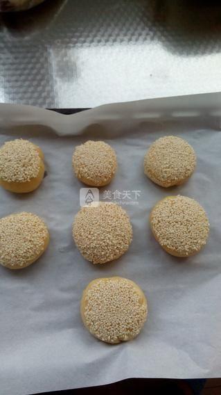坚果蟹壳黄的做法步骤:17