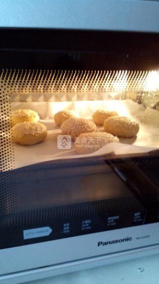 坚果蟹壳黄的做法步骤:18