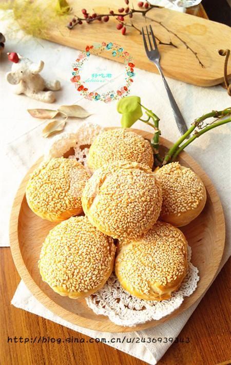 坚果蟹壳黄的做法