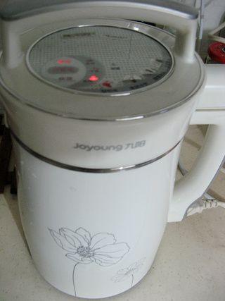 南瓜籽核桃豆浆的做法步骤:4