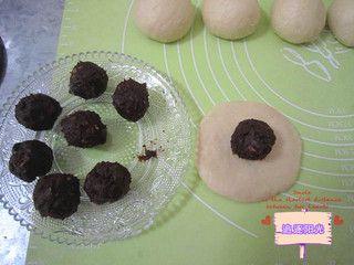 巧克力墨西哥面包的做法步骤:9
