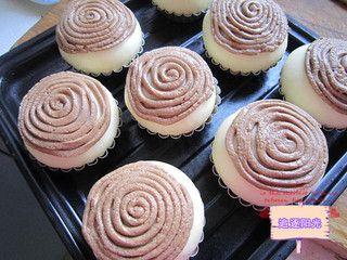 巧克力墨西哥面包的做法步骤:11