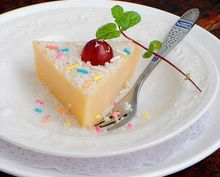 雪花栗子糕的做法步骤:13