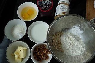 核桃燕麦华夫饼的做法步骤:1
