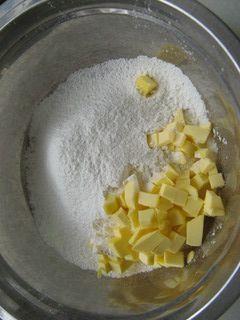 核桃酸奶马芬的做法步骤:2