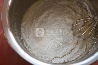 全麦橄榄油核桃饼干的做法步骤:4